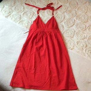 Victoria's Secret Bra Top Red Dress
